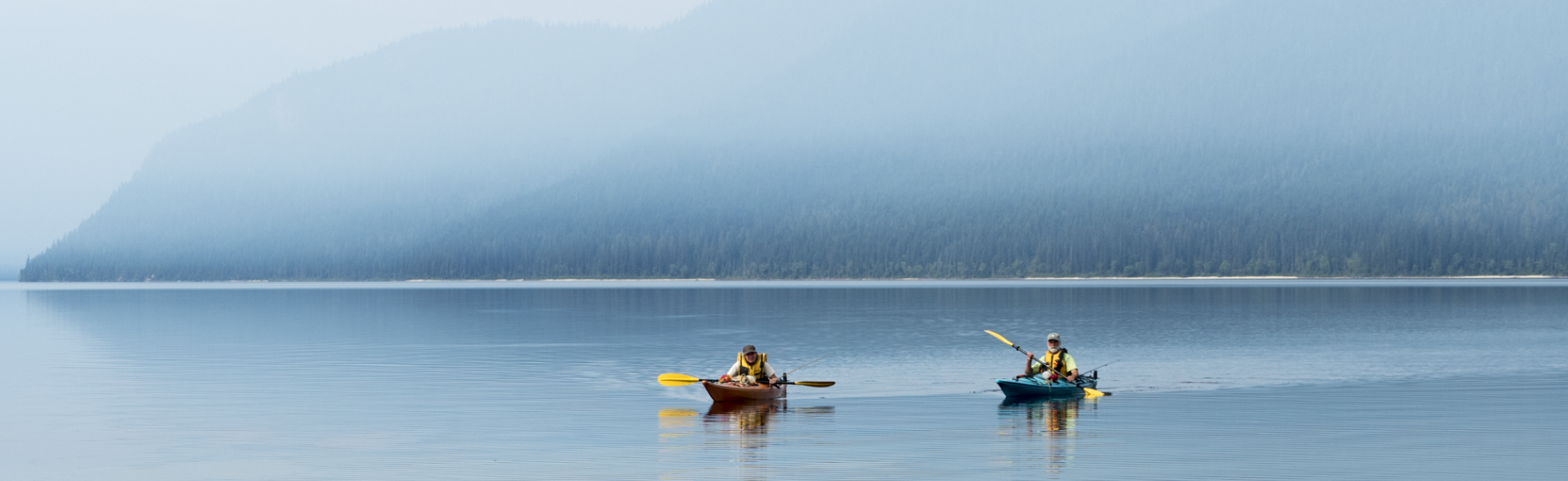 Murtle Lake Sea Kayaking Touring